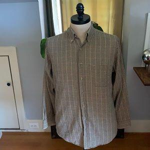 Viyella made in USA dress shirt. 80%cotton 20%wool